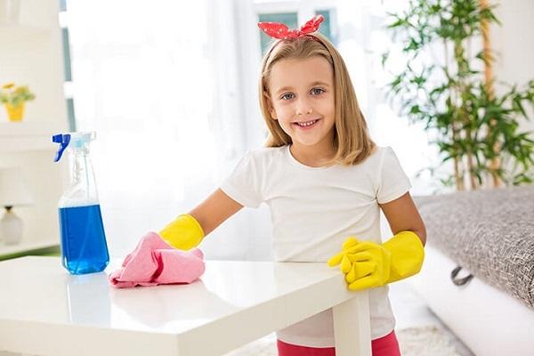 تمیز کردن کاشی و سرامیک