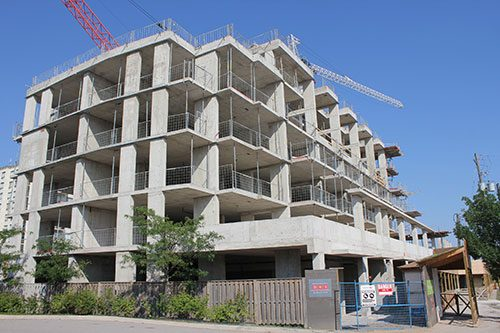 ساخت ساختمان های ضد زلزله با اسکلت بتنی