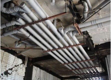 تشخیص ترکیدگی لوله و ترمیم اتصالات لوله های ساختمان