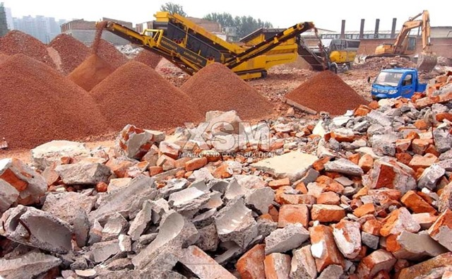 Building-Waste-Crushing-Machinery