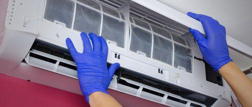نحوه تمیز کردن فیلتر کولر گازی