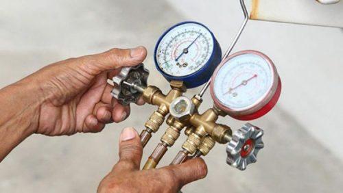 شارژ کولر گازی زمانیکه گاز کولر گازی کم می باشد