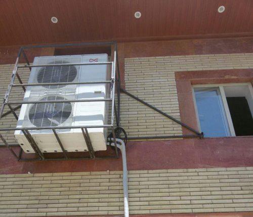 نصب اسپلیت با هدف کاهش انرژی در مکان مناسب