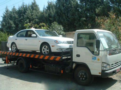 یدک کش خودرو تهران | خودرو بر (خودروبر)  نیسان یدک کش | جرثقیل حمل خودرو