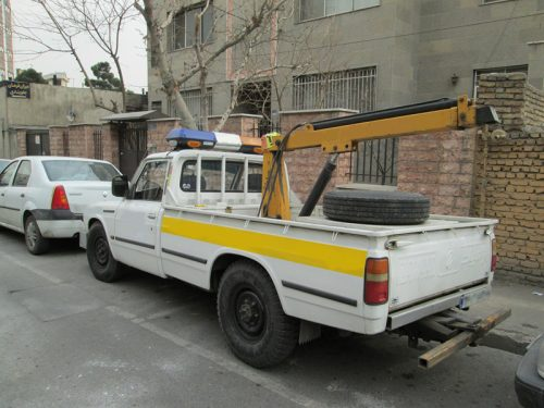 یدک کش خودرو در تهران