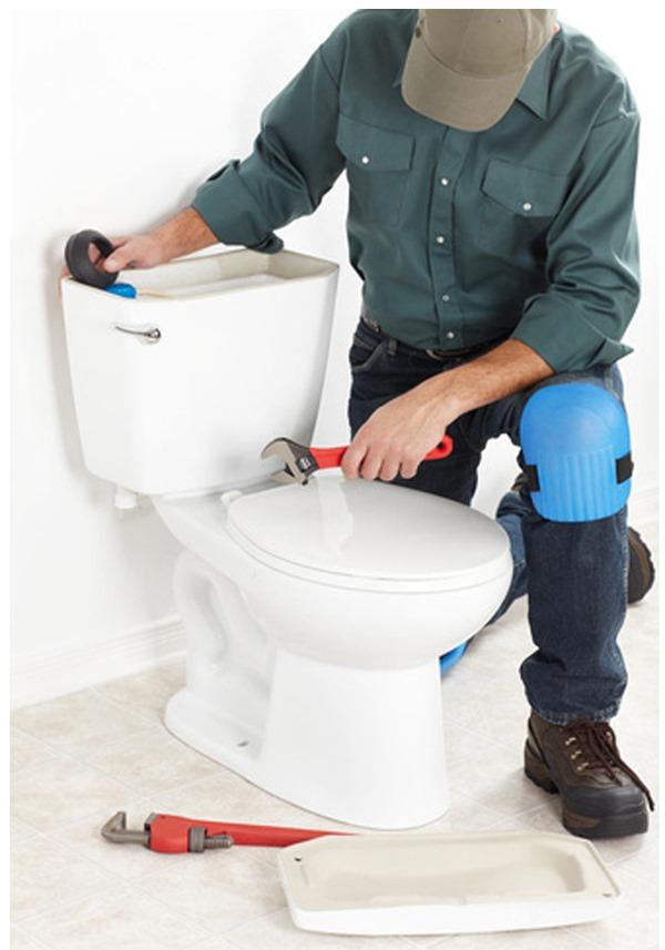 عیب یابی مشکلات رایج توالت فرنگی