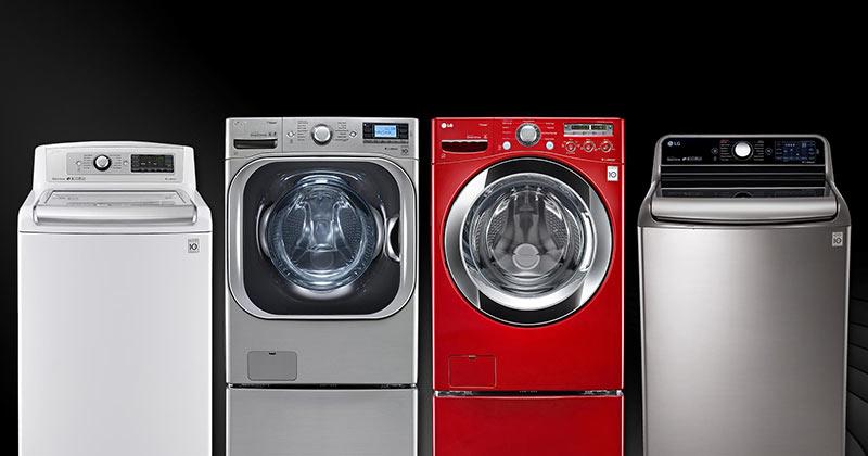 انواع برند های ماشین لباسشویی