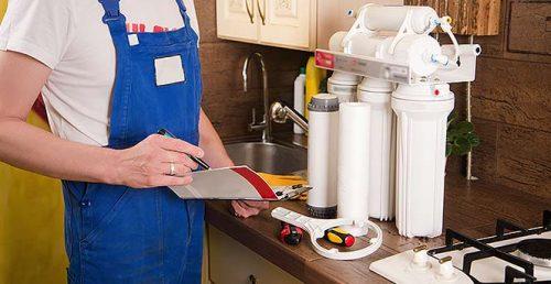 نصب و تعمیر دستگاه تصفیه آب