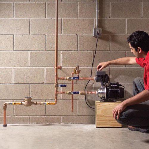تعمیرکار پمپ آب خانگی