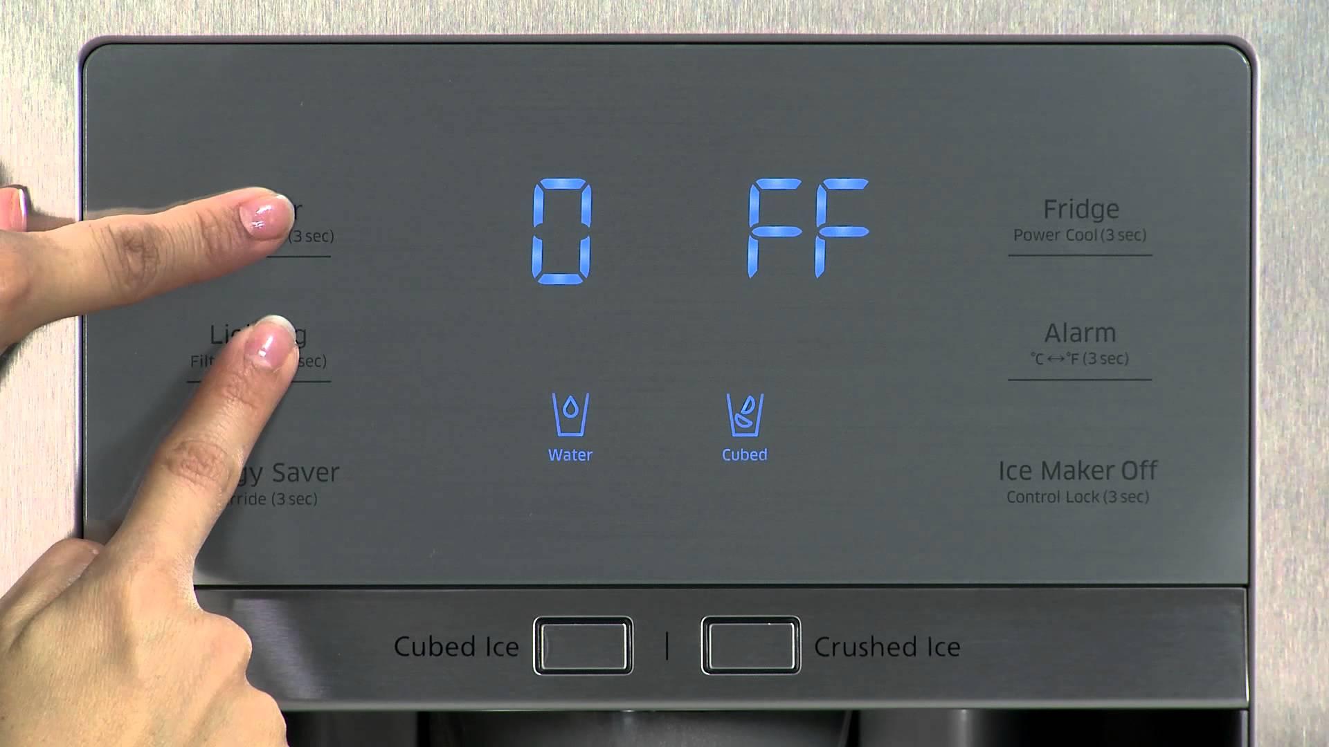 تنظیم دمای یخچال دیجیتال