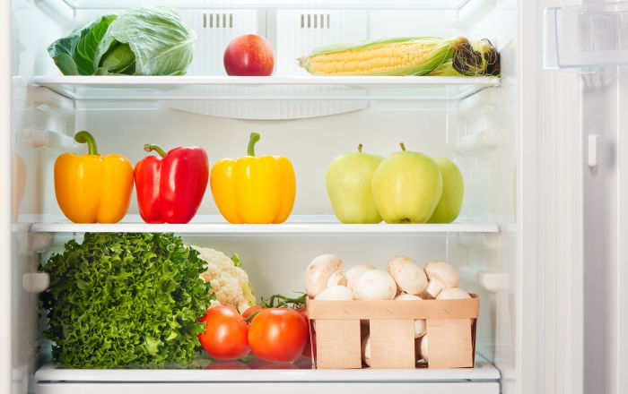 تنظیم دمای یخچال برای هر ماده غذایی
