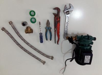 ابزارهای مورد نیاز برای نصب پمپ آب