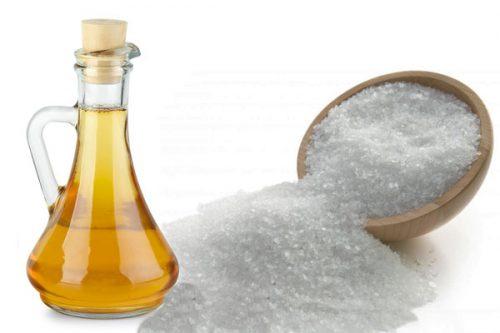 باز کردن گرفتگی لوله فاضلاب با استفاده از نمک و سرکه