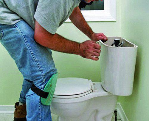 باز کردن گرفتگی چاه توالت فرنگی