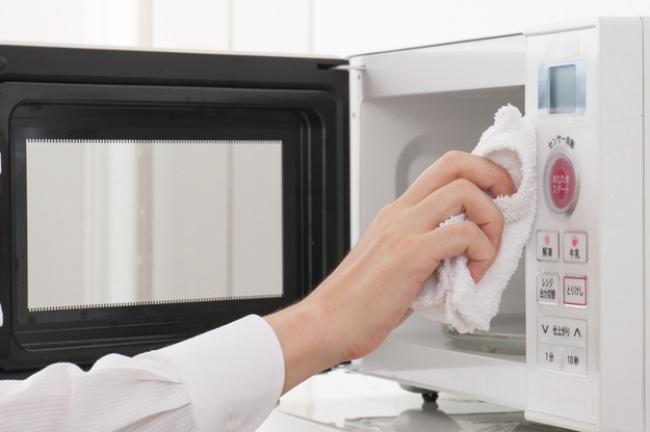 راه حل های تمیز کردن مایکروویو