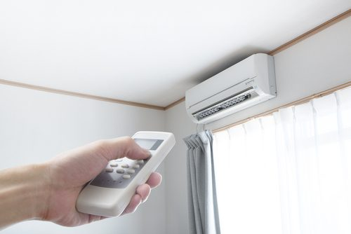 تنظیم ریموت کولر در حالت گرمایش کولر گازی