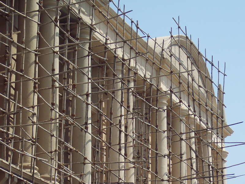 انواع داربست ساختمانی