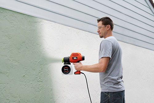 آموزش رنگ کاری ساختمان با پیستوله