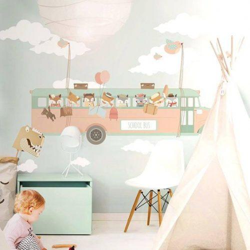 مناسب ترین کاغذدیواری برای اتاق کودک