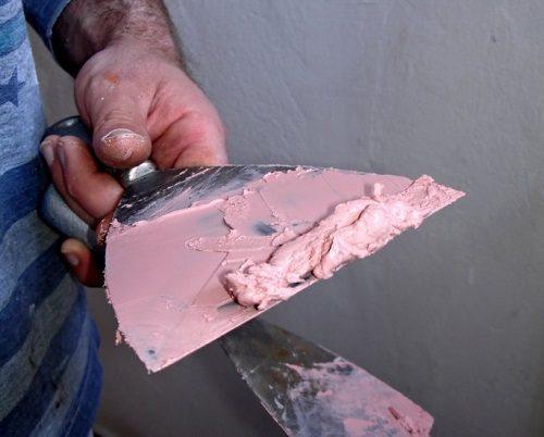 آموزش ساخت بتونه رنگ آمیزی