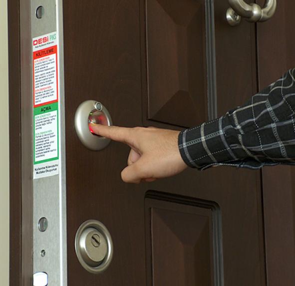 امنیت قفل اثر انگشتی
