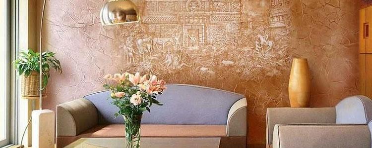 تکنیک های پتینه کاری در نقاشی و رنگ آمیزی خانه