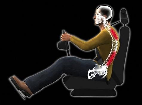 نحوه صحیح نشستن بر روی صندلی خودرو