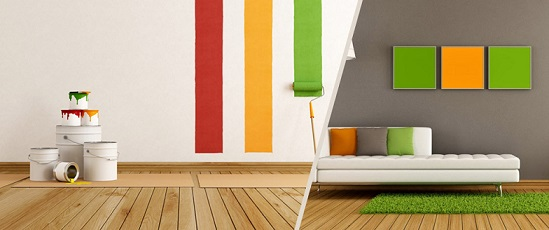 کاغذ دیواری بهتر است یا رنگ