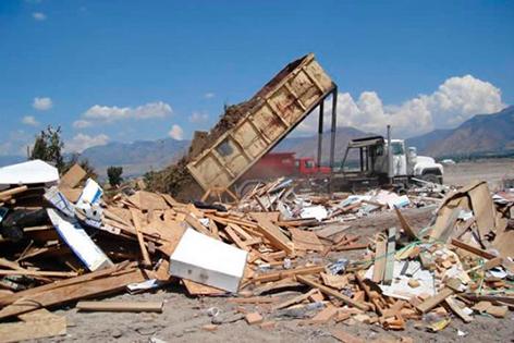قانون تخلیه نخاله ساختمانی