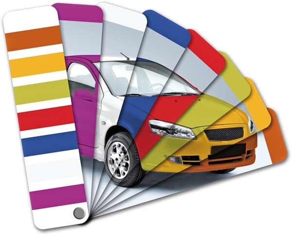 رنگ های خودرو