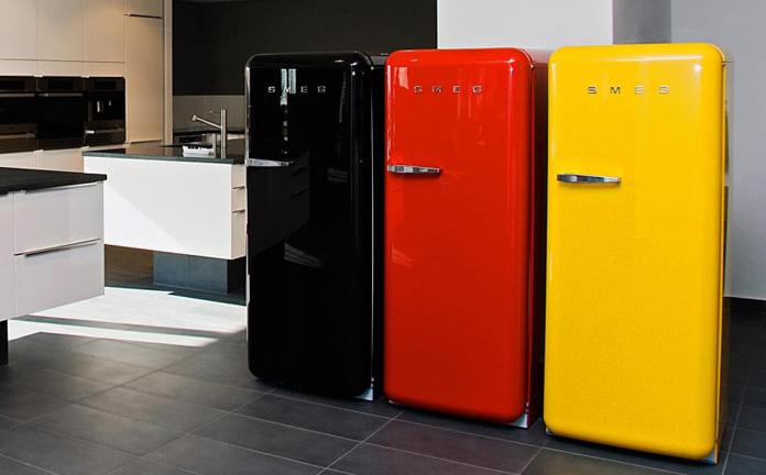 مزایا و معایب یخچال های طرح دار و رنگی
