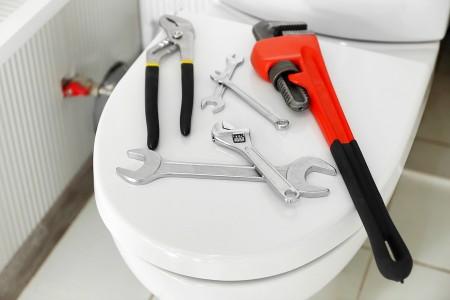 ابزار نصب توالت فرنگی