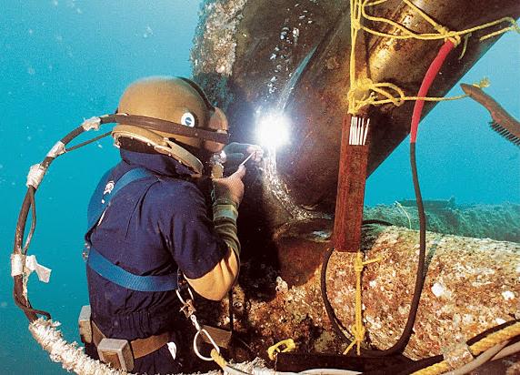 الکترود های جوشکاری زیر آب