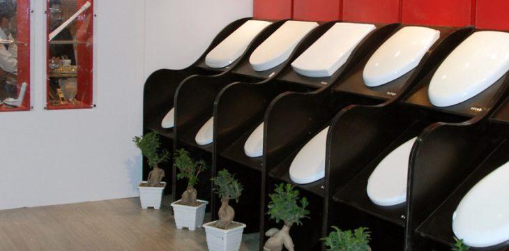 انواع درب توالت فرنگی