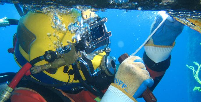 ایمنی جوشکاری زیر آب