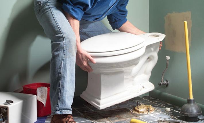 تبدیل دستشویی ایرانی به فرنگی بدون تخریب