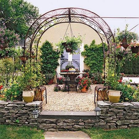 مزایای ساخت داربست برای گل ها
