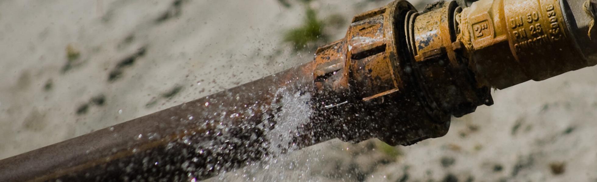 کاهش فشار آب ناگهانی