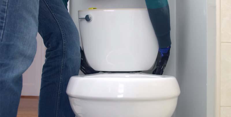ابعاد توالت فرنگی های دو تکه