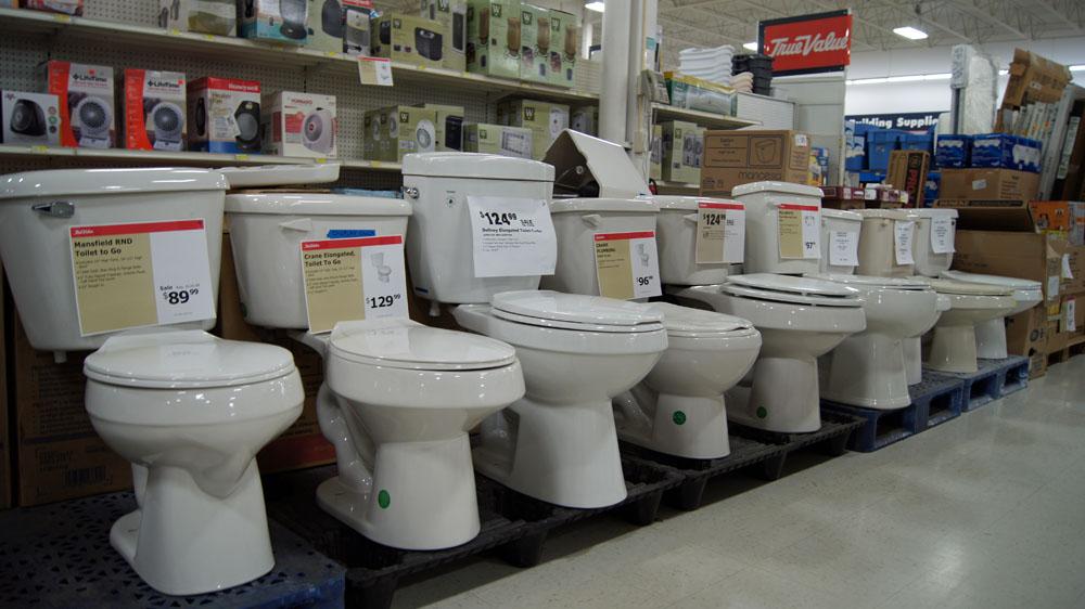 تاثیر ابعاد توالت فرنگی در قیمت