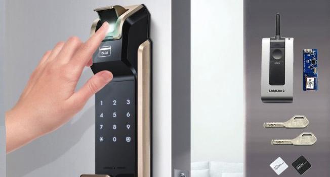 خرید درب ضد سرقت با قفل اثر انگشتی