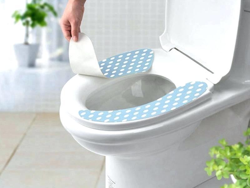 استفاده از کاور توالت فرنگی
