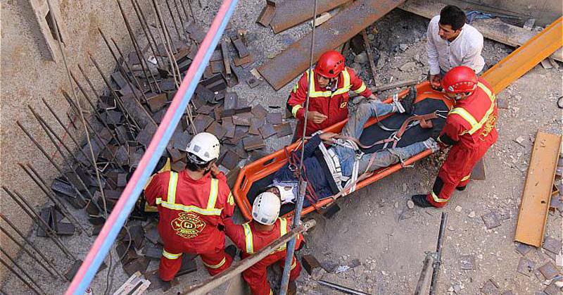 کنترل وضعیت در زمان وقوع خطرات کار در ارتفاع