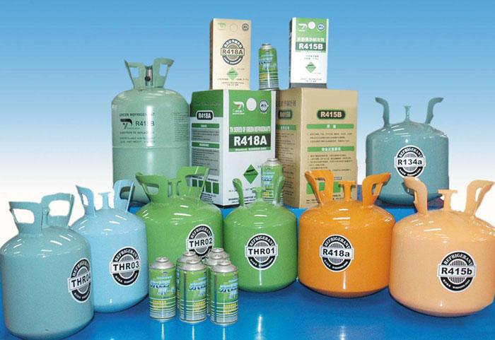 انواع گاز های سیستم خنک کننده یخچال