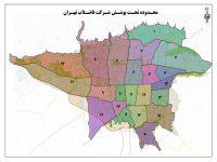 عکس نقشه طرح اگو و خیابان پاسداران