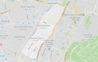 نقشه منطقه پاسداران