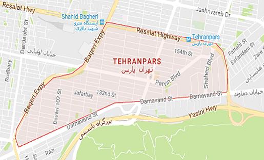 خدمات لوله بازکنی محدوده تهرانپارس