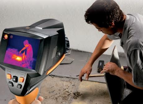 تشخیص ترکیدگی لوله با دستگاه حرارتی قم