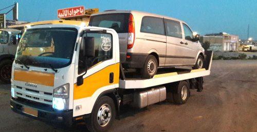 جرثقیل حمل خودرو شیراز