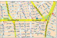 نقشه منطقه هفت تیر
